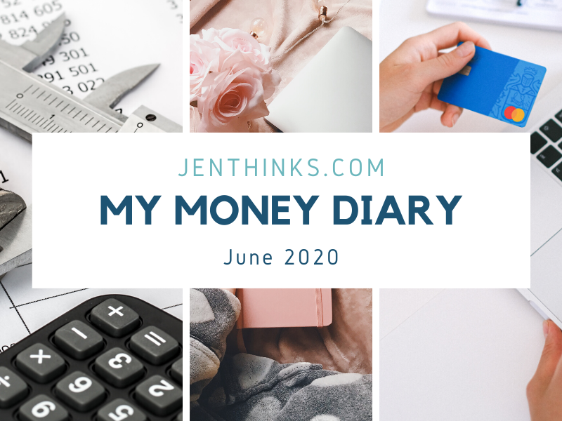 My Money Diary – Jul 2020 – Budget for Skincare, Console Table & Whistler