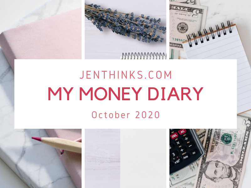 My Money Diary – Sep 2020 – Budget Recap and Money Diary