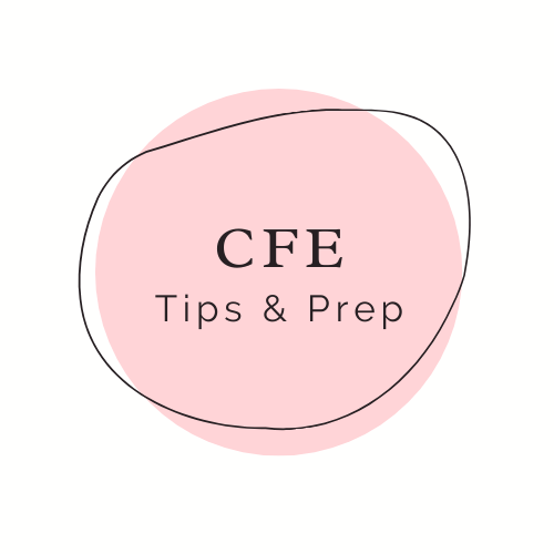 CFE Study Tips and Prep