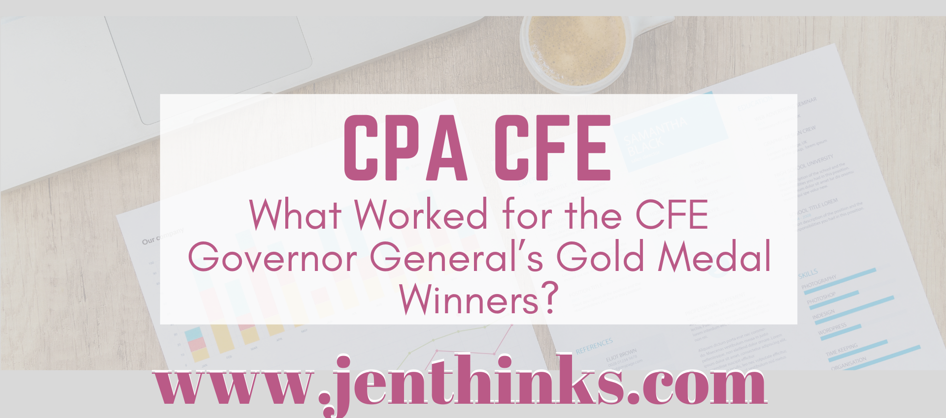 CFE study tips what worked