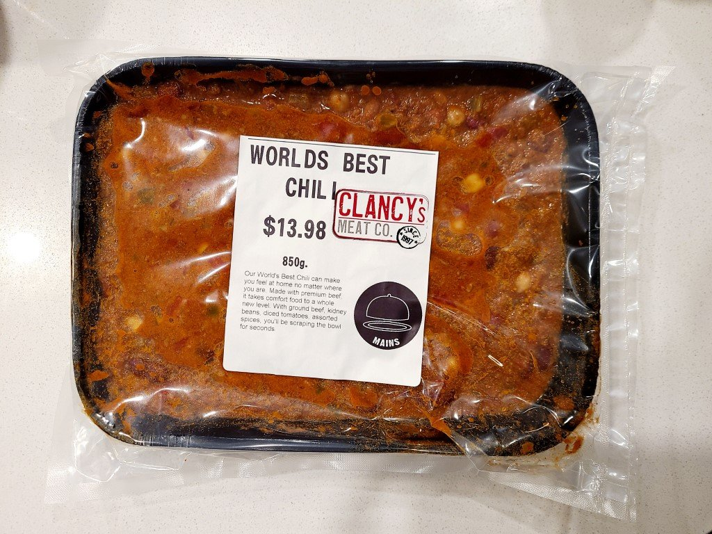 Clancys Meat Co Chili