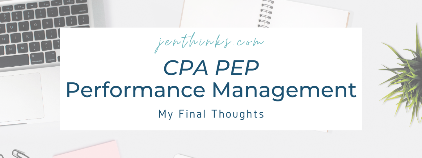 CPA Electives – What To Study For The Performance Management Exam