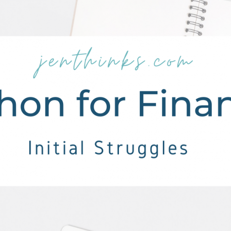 Accountant Learns Python for Finance — Diary (Updated Daily)